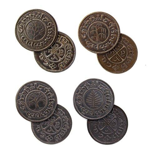 Der Hobbit - Münzen Set #5 4 Shire Pennies