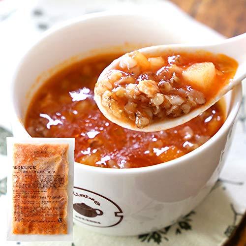 ダイエット 食品 スープ 置き換え 40代から始める男の スープセット 5P入り 無添加 冷凍 調理不要 (国産もち麦ミネストローネ)