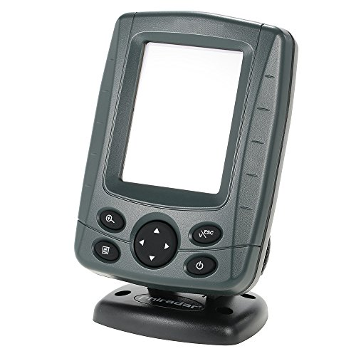 "Explopur Buscador de Pesca inalámbrico - Localizador de Profundidad LCD de 3.5""para Exteriores Sensor de sonda de Pesca Buscador de Pesca Alarma"