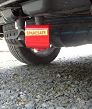 Dispositivo antirrobo de rueda de repuesto para VW T5 T6 Transporter, Caravelle, California y Caddy