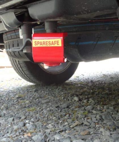 SpareSafe Ersatzrad-Diebstahlsicherung für VW T5 T6 Transporter, Caravelle, California & Caddy
