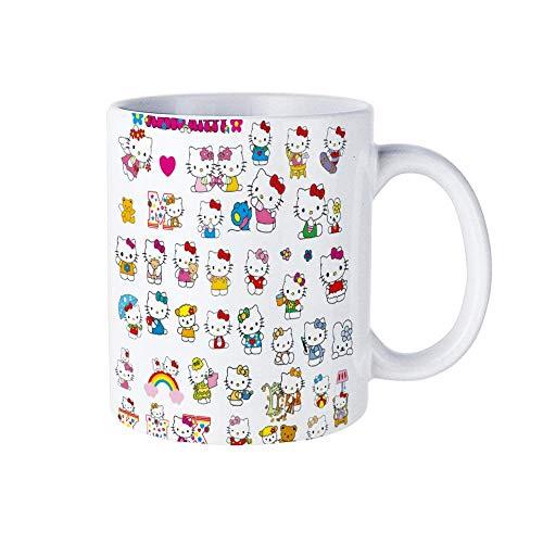 KELLEN WHITEHEAD Hellokitty F Lover Birthday Valentine Gift for Her Family 11 Unzen Keramik Kaffeetasse Große Neuheit Becher