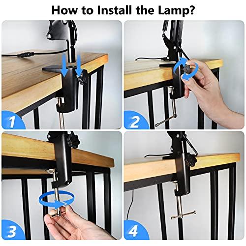 Maxsure Lámparas de escritorio
