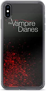 Horseshoe's Compatible with iPhone 7 Plus/8 Plus Case Vampire Diaries Fallen Leaf Supernatural Drama Pure Clear Phone Cases Cover