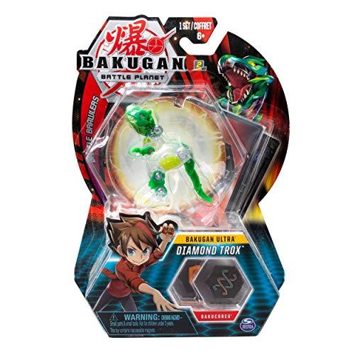 BAKUGAN Ultra, Diamond Trox, Criatura transformadora Coleccionable de 3 Pulgadas de Alto, para Edades de 6 y más