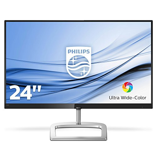 "Philips 278E8QJAB Gaming Monitor Curvo VA LED 27"", FHD, 4 ms, Freesync 75 Hz, HDMI, Display Port, VGA, Casse Integrate, Flicker Free, Ultra Wide Color, Nero"