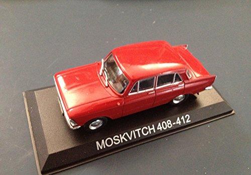 Générique Moskvitch 408 412 Voiture Miniature 1/43 IXO IST Legendary Car Auto B35