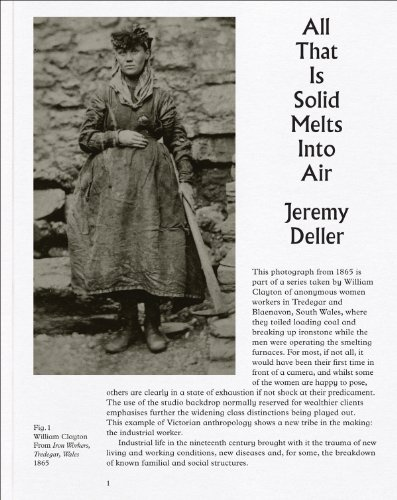 Jeremy Deller: All That Is Solid Melts into Air (2014-01-31)