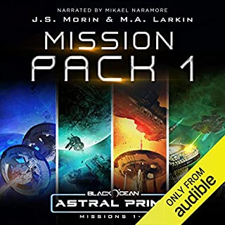 Page de couverture de Astral Prime Mission Pack 1: Missions 1-4