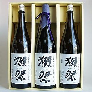 日本酒セット 獺祭 飲み比べ 純米大吟醸 磨き23・39・45 1800ml 3本 感謝のギフト箱入り 獺祭の純正包装紙で無料包装