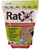 EcoClear Products 620102, RatX All-Natural Non-Toxic Humane Rat and Mouse Killer Pellets, 3 lb. Bag