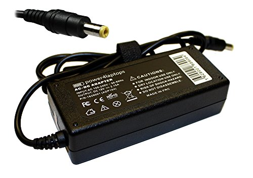 Power4Laptops Adaptador Fuente de alimentación portátil Cargador Compatible con Acer Aspire One 722-C62bb