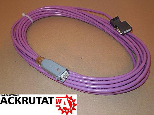 Siemens Simatic S7 6ES7972-0BB12-0XA0 Kabel Harting Steuerleitung MPI Bus L2/Fip