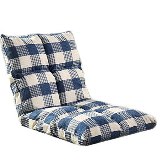 TXXM Lazy Sofa Freizeit Faltbarer Einzellehner Schlafsaal Schlafzimmer Bett Computer Stuhl (Farbe: C)