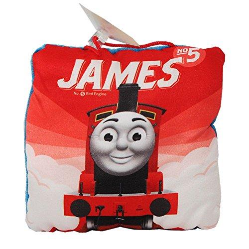 Thomas et ses Amis - Sélection Coussins Enfants 12 x 12 cm - Thomas & Friends, Kissen Motiv:James