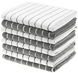 Gryeer Microfiber Kitchen Towels, Stripe Designed, Soft and Super...