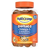Haliborange Kids Vitamins Omega-3 and Multivitamin Orange Softies, Pack of 60