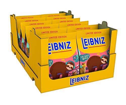 Leibniz 'Hipster' (Eat,Sleep,Repeat) Limited Edition - 12er Pack - Mini-Butterkekse mit Trendfiguren...