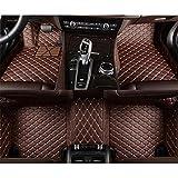 XIANGSHAN Custom Auto del cojín del pie del automóvil de la Alfombra Cubierta del Coche tapetes for Mercedes Benz Clase E W211 2005-2016 2017 2018 by (Color Name : Brown)