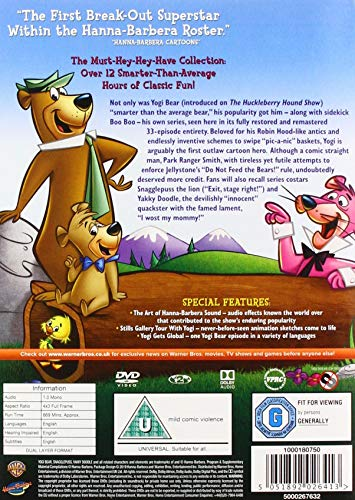 Yogi Bear: The Complete Series [DVD] [2000] [1961]