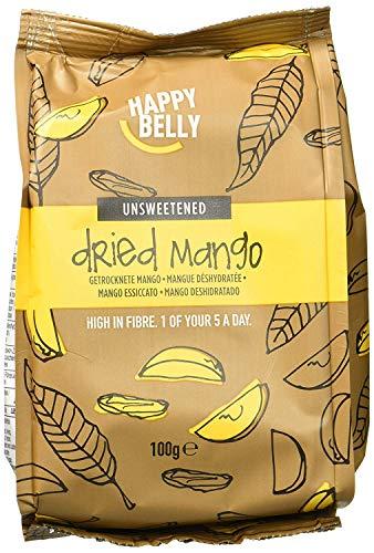 Marque Amazon - Happy Belly Mangue déshydrathée, 7x100 g