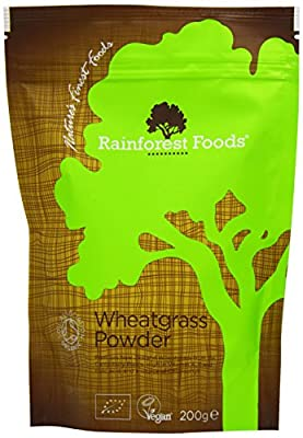 Rainforest Foods Nz Wheatgrass Powder 200 g (Pack of 6) by Rainforest Foods