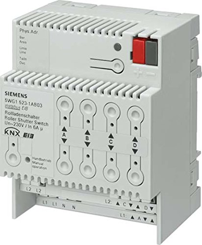 Siemens instabus eib - Interruptor persiana enrollador 523/04 4x230vac 6a