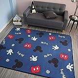 Babyspielmatte Krabbeldecke Doppelte Oberfläche Baby Teppich Teppich Entwicklungsmatte für Kinder Game Pad Game Pad Kinderzimmer Dekor Auto matten