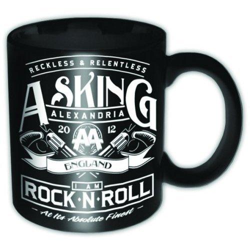 Asking Alexandria Rock N Roll Ceramic Boxed Mug