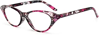 Reading glazen vrouwen leesbril, anti-vermoeide Cat Eye leesbril, mode vintage stijl bril frame, driekleurig