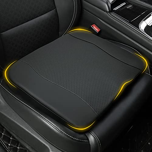 Bangled Car Seat Cushion, Memory Foam Driver Seat Cushion for Sciatica & Lower Back Pain Relief,...