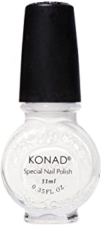 Konad Nail Art Stamping Polish - White Body Care / Beauty Care / Bodycare / BeautyCare