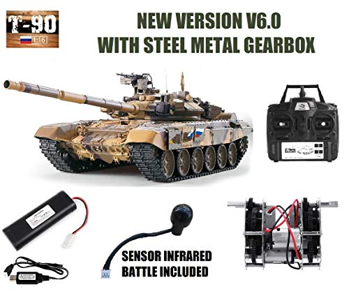 MODELTRONIC Tanque Radio Control Ruso T-90 Escala 1/16 Heng