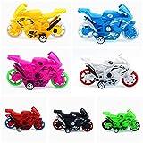 PinShang Lot de 10 Mini Jouets Amusants colorés pour Motos