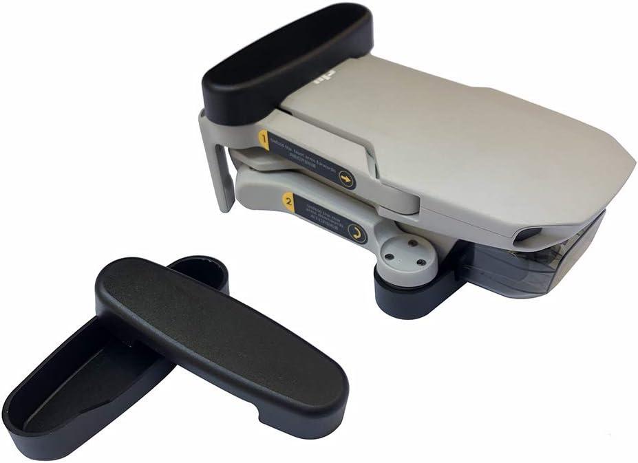 Linghuang Soporte de Hélice Flexible para dji Mavic Mini/ Mavic Mini 2 Propeller Fastener Protector Cover (Negro)