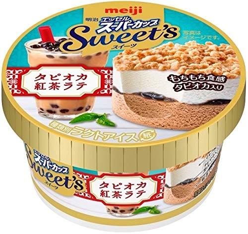 明治 エッセル スーパーカップ Sweet's タピオカ紅茶ラテ 172ml×24個
