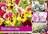 Stiefmuetterchen Freundliche Gesichter (Wandkalender 2022 DIN A3 quer): Froehlich stimmende Gesichter von Stiefmuetterchen und Hornveilchen (Monatskalender, 14 Seiten )