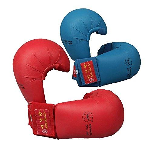 Hayashi Karatefaustschützer TSUKI, WKF-approved S rot