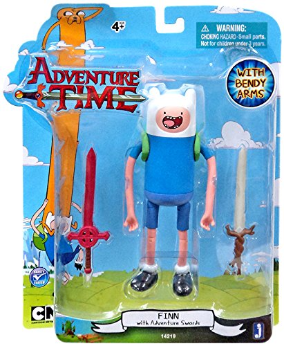 Adventure Time 5' Finn with 2 Swords Action Figure