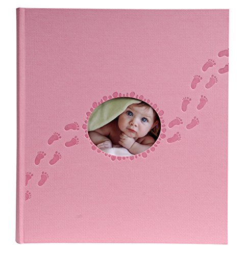 Exacompta 12202E Piloo Fotoalbum (60 Seiten, 29 x 16 cm) 1 Stück rosa