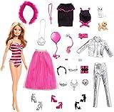 Barbie - Calendario dell'Avvento, 24 Sorprese da Scoprire, Bambola Inclusa, Giocattolo per Bambini 3+ Anni, GFF61