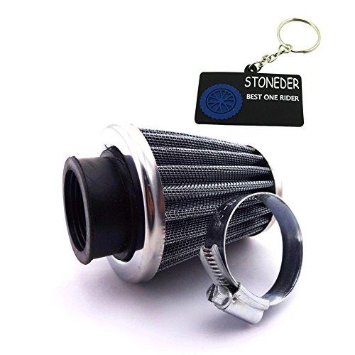 Luftfilter aus Stahl mit 35mm Umfang von Stoneder für den Motor des Monkey-Bikes (50cc, 70cc, 90cc und 110cc), für ATV Quad, Go Kart, Buggy, Motorrad, Motocross