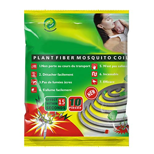 Yissma - Juego de 10 quemadores de incienso para mosquitos