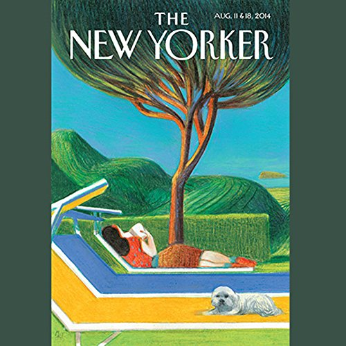 The New Yorker, August 11th & 18th 2014: Part 1 (David Remnick, Sasha Frere-Jones, Margaret Talbot) cover art