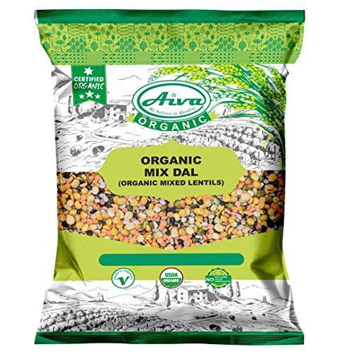 Aiva Organic Mix Dal   Mixed Lentils   Lentils Blend 1 LBS