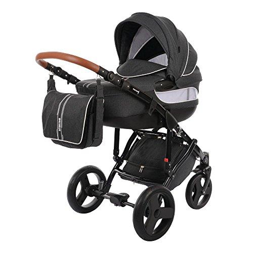 Knorr-Baby Kombi-Kinderwagen Sportime Premium grau