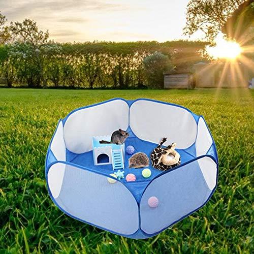 Pet Cage Tent Box Ademende Kleine Dieren Folding Portable Lichtgewicht Omheining Voor Hamster Hedgehog Puppy Cat Rabbit