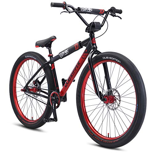 SE Bikes Dub Edition Monster Ripper 29R+ BMX Bike 2020 (43cm, Black)
