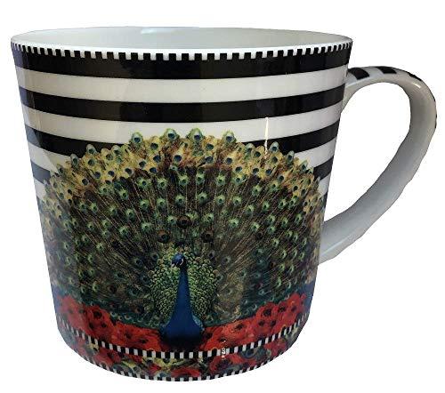 Jameson & Tailor Kaffeebecher Pfau Designed with Love (Porzellan)