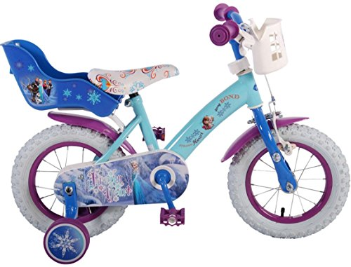 12 Zoll Mädchenfahrrad Kinderfahrrad Fahrrad Frozen Disney Eiskönigin Bike Rad VOLARE 91250-CH-IT